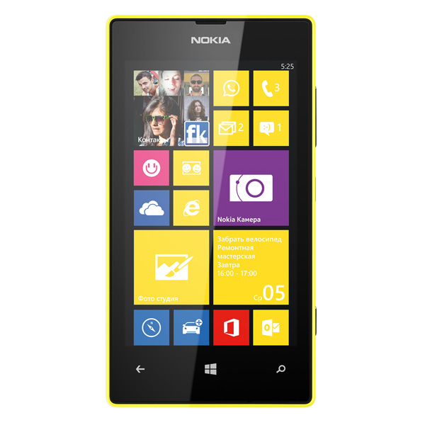 Смартфон Nokia Lumia 525 Yellow